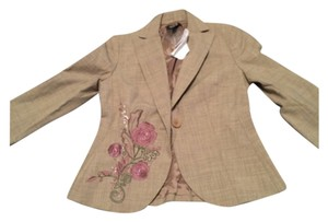 Laundry by Shelli Segal Tan Blazer