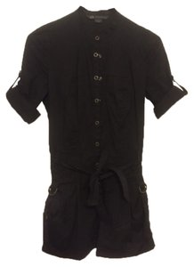A|X Armani Exchange Cotton Belted Dress