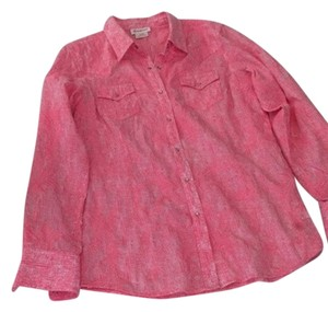 Ariat Top pink/white