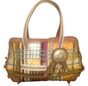 Ipa-Nima Satchel in Green multicolored