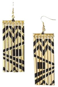 House of Harlow 1960 House of Harlow 1960 Gold Metal Fringe Earrings