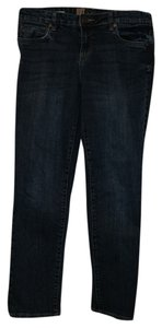KUT from the Kloth Boyfriend Cut Jeans-Dark Rinse