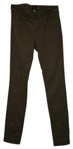 Just Black Skinny Pants Olive