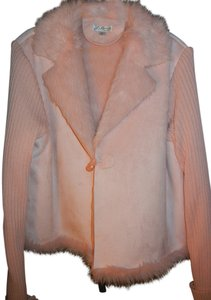 J. Marco Faux Suede Faux Fur Sweater Sleeves Sweater Jacket Jacket Cardigan
