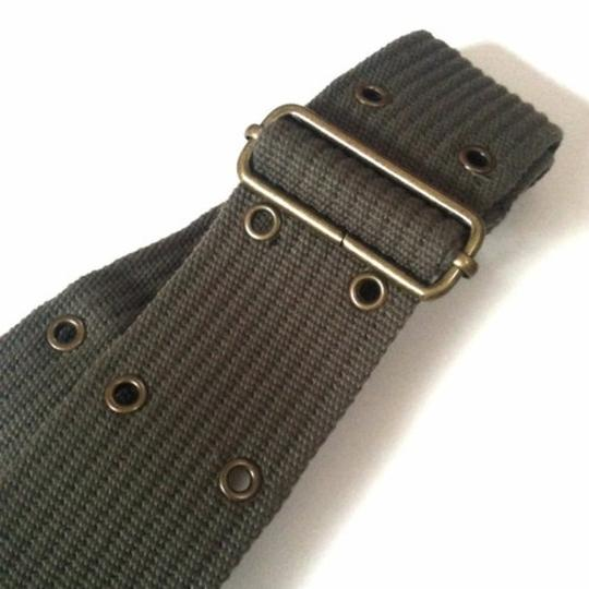 Other Edgy army green rivet belt