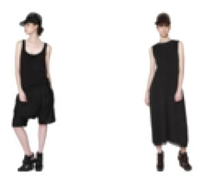 Y-3 short dress Black on Tradesy