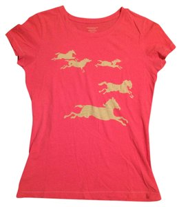 American Eagle Outfitters Wild And Free Graphic T Shirt Pink