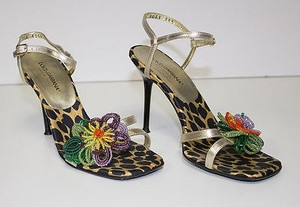 Dolce&Gabbana Strappy Multi-Color Sandals