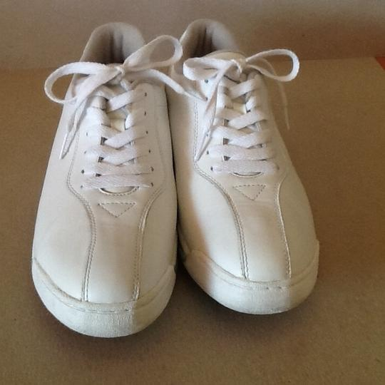 Clarks Leather White Athletic