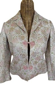 Other Ivory, Pink, Gold Blazer