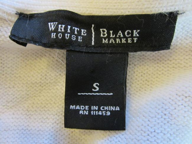 White Black House Market Sweater
