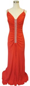 Red Maxi Dress by Nicole Bakti