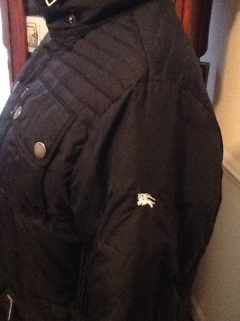 Burberry Quilted Heavy Coat