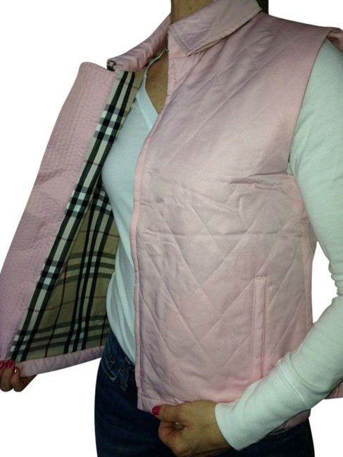Preload https://item1.tradesy.com/images/burberry-pink-london-quilted-vest-size-6-s-759570-0-1.jpg?width=400&height=650