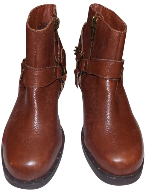 Item - Brown Leather Boots/Booties Size US 6 Regular (M, B)