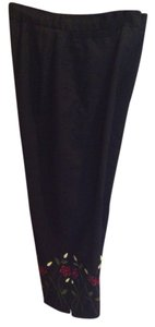 Larry Levine Capris Black