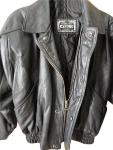 oxford Leather Jacket