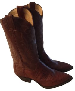 Justin Boots Rust/Dark Brown Boots