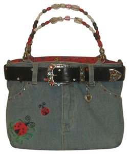 abj jeans Tote in blue