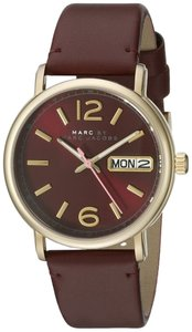 Marc Jacobs Marc by Marc Women's Gold Analog Watch MBM1386