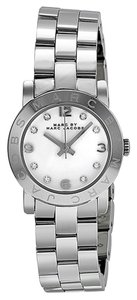 Marc Jacobs Marc by Marc Women's Silver Analog Watch MBM3055