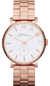 Marc Jacobs Marc by Marc Women's Rose Gold Analog Watch MBM3244