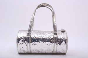 Louis Vuitton Papillon Tote in silver