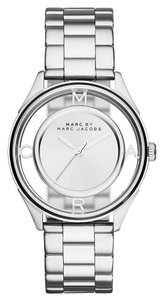 Marc Jacobs Marc by Marc Women's Silver Analog Watch MBM3412