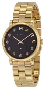 Marc Jacobs Marc by Marc Women's Gold Analog Watch MBM3421