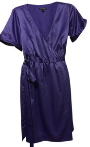 Banana Republic short dress Purple on Tradesy