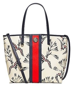Tory Burch Leather 100% Tote in Cape Floral