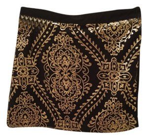 Stradivarus Mini Skirt Black