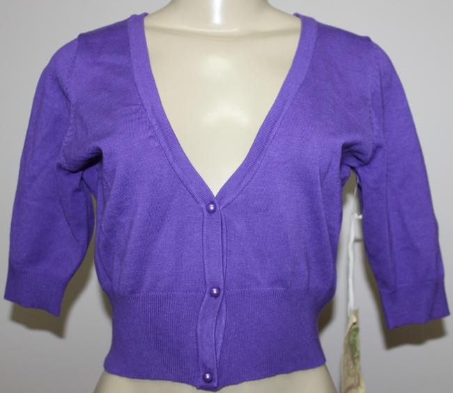 One World Button Down Shirt PURPLE