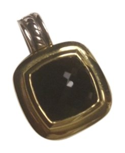 David Yurman Onyx Enhancer Pendant
