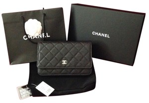 Chanel Woc Wallet On Chain Woc Classic Cross Body Bag