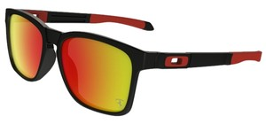 Oakley Oakley OO9272-07 Catalyst Black/Ruby Lens Sunglasses