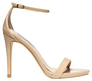 Steve Madden Stecy Patent Sexy Nude Sandals
