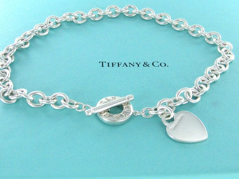 Tiffany and co tiffany and co heart sterling silver and for Where is tiffany and co located