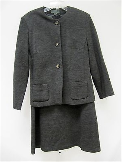 655b0964 low-cost Country Road Womens Gray Wool Pc Sheath Dress And Jacket Suit
