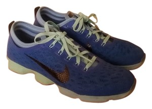 Nike Workout Sneakers Airzoom Blue - Soar/Lakeside/Green Glow/Black Athletic