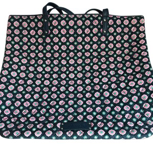 Vera Bradley Tote in multi blue with pink and green