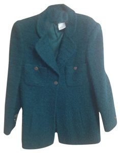 Chanel Boucle SPRUCE GREEN Jacket