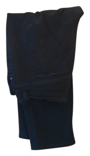 Item - Black Dark Rinse Nice Comfortable Stretchy Relaxed Fit Jeans Size 18 (XL, Plus 0x)