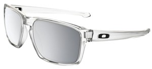 Oakley Oakley Sliver Clear/Chrome Lens OO9262-23 Sunglasses