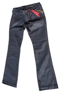 Express Stella Low Rise Boot Cut Jeans-Light Wash