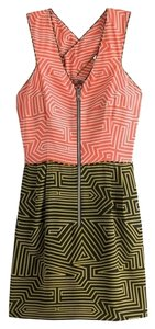 Loeffler Randall short dress Coral black on Tradesy