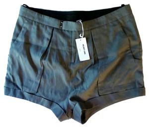 Helmut Lang Silk Silk Dress Shorts Grey