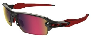 Oakley Oakley OO9295-08 Flak Black/Red Lens Sunglasses