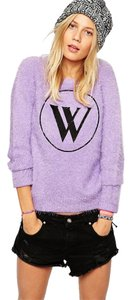 Wildfox Fluffy Logo Sweater