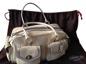 Coach Rare Limited Edition Satchel in Natural / Tan